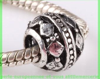 N616 European spacer bead for bracelet charms