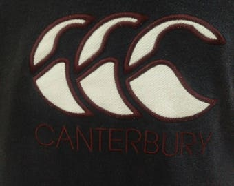 Canterbury Big Logo Embroidery Sweatshirt,size L