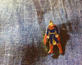 Vintage Superman DC Enamel Pin