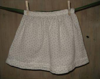 "Spring/summer skirt ""key to the fields"""