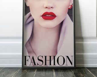 Fashion Cover Print | Fashion Print | Fashion Printable | Fashion | Fashion Decor | Wall Art | Home Decor | Vogue | Vogue Printable