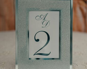 Table Numbers, Table Number In Frame, Framed Table Numbers, Table Number For Frames, Wedding Table Numbers, Traditional Table Numbers