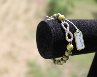 serpentine bracelet with Infinity sign