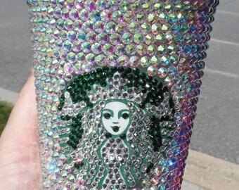 Blinged out Starbucks Tumbler
