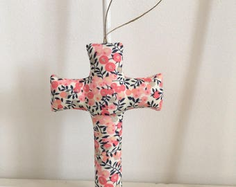 Cross liberty Wiltshire sweet pea, room decoration