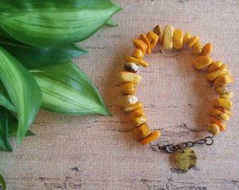 Yellow Chip Bracelet, Southwest Bracelet, Boho bracelet, Native American style bracelet