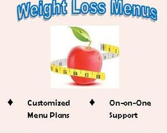 Menus + Consults for weight loss