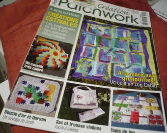 magazine' patchwork creation) with instructions and patterns
