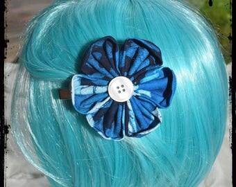 """""""Simplicity shell"""" kanzashi hair clip"""