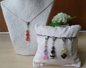 The Choker necklace with 5 interchangeable pendants