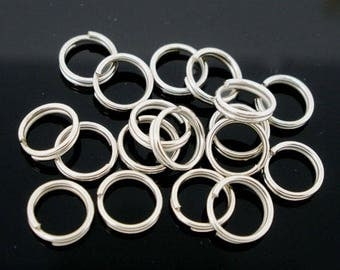 50 double 8 mm jump rings