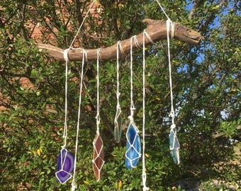 Rainbow Agate Wall Hanger/Sun Catcher