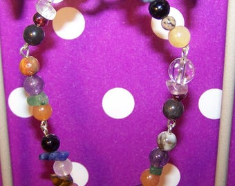 Gems of the sign of Taurus bracelet