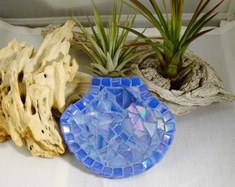 mosaic scallop shell