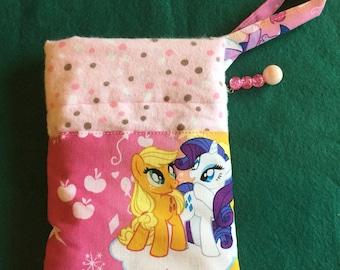 Pony Print Wristlet