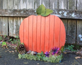 Fall Decor | Pumpkin Decor | Porch Decor | Thanksgiving Decor | Table Decoration | Whimsical Decor | Thanksgiving Table Decor | Fall Pumpkin
