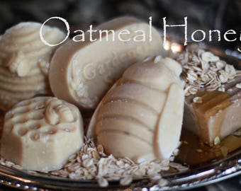Oatmeal and Honey Handmade Natural Soap