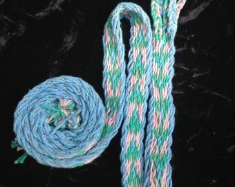 Hand-woven belt