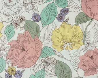Pastel Roses by Sevenberry - 100% Cotton