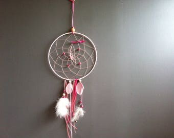 Dream - catcher in shades of pink