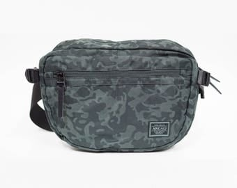 Elf Shoulder Bag GREEN CAMOUFLAGE, 4 Colours, high quality Nylon