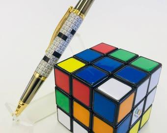 Crossword puzzle pen