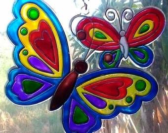 Large Butterfly Sun Catcher