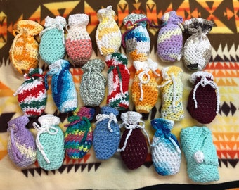 Crocheted Soap Bags
