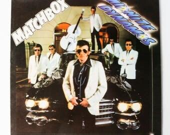 Matchbox - Midnite Dynamos / Vintage Vinyl Record LP Music Album / 1980 British Rockabilly Rock Rock'n'Roll