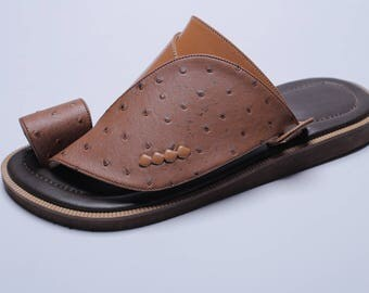 Handcrafted Leather Sandals For Men