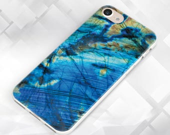 Blue Gemstone Crystal Agate Samsung Case, Samsung s8, Samsung Galaxy S7, Samsung Galaxy s6, Samsung Galaxy s5, personalized case