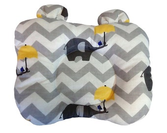 Children's pillow, Baby Pillow for Newborn, double-sided, comfortable, for Baby Crib or Baby Nest
