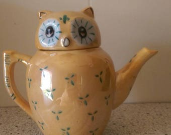Owl figural teapot, Pier One Imports