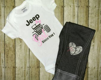 Jeep Girl Bodysuit
