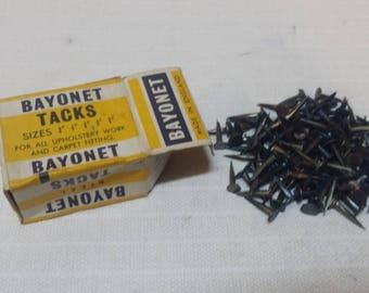 9/16 Steel Bayonet Upholstery Tacks Made in England