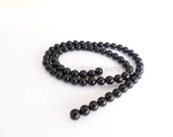 (15) 4mm, 6mm (10), 8mm (8), 10mm (4)-genuine Onyx beads