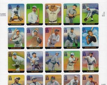 Legends of Baseball US Postage - Mint - Unused - 2000 - Scott 3408