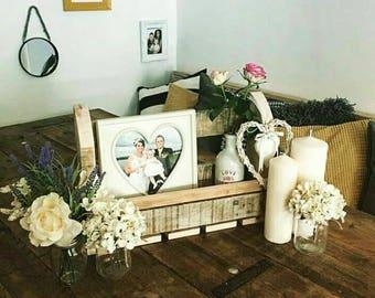 Rustic Wooden Wedding Rack