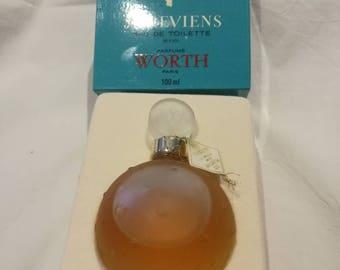 """Vintage 'I come back""""Worth perfume bottle"""