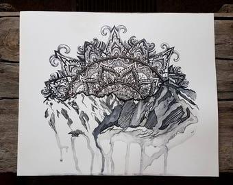 Paintbrush Canyon Mandala