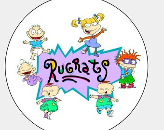 48 Rugrats Envelope Seals Labels Stickers!