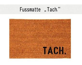 Tach. Coconut Mat Carpet doormat 40 x 60 cm