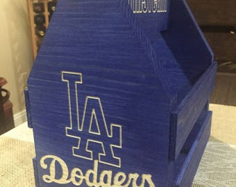 Personalized & Custom Beer Caddy - Drink Holder - Tailgate Ready