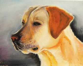 Custom Pet Portrait - Painting of Pet - Unique Gift for Pet Lover -original watercolour painting, oil painting