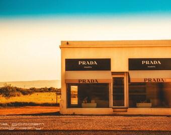 Prada Marfa , Landscape Photography, Home Decor, Wall Art, Texas, Big Bend, Contemporary