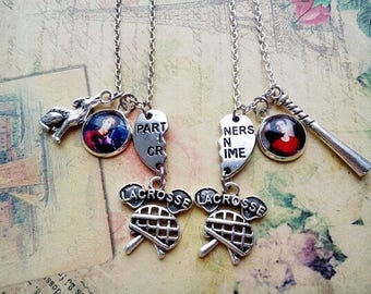 Paired pendants Teen Wolf, Scott Mccall jewelry, Stiles Stilinski jewelry