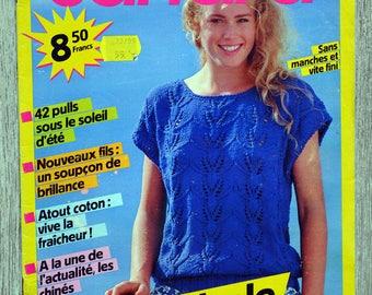 Sandra 35 - June 1987 knitting magazine