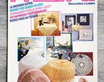 Phildar Decoration magazine & 9 (Vintage)