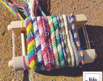 Colorful Handmade Friendship Bracelets