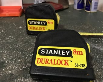 Stanely tapes . Vintage stanely tape measusre .